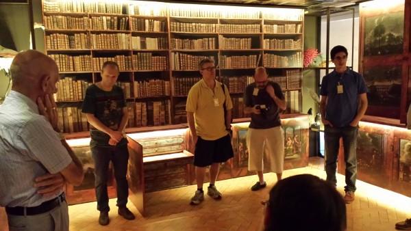 Visita a l'exposició Salvadoriana