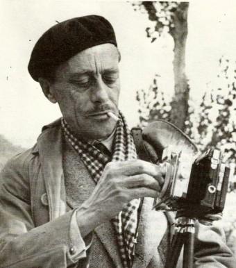 Autofotografia d'Antoni Villarrúbia i Garet (Balenyà, 1901- Balenyà, 1957). Imatge extreta de Masó (1986).