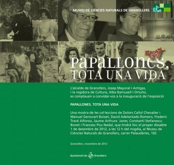 Exposició Papallones: tota una vida, MCN Granollers